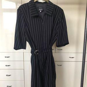 Akris Bergdorf Goodman Pin Striped Dress